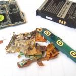 Samsung recyklace zlata z mobilu